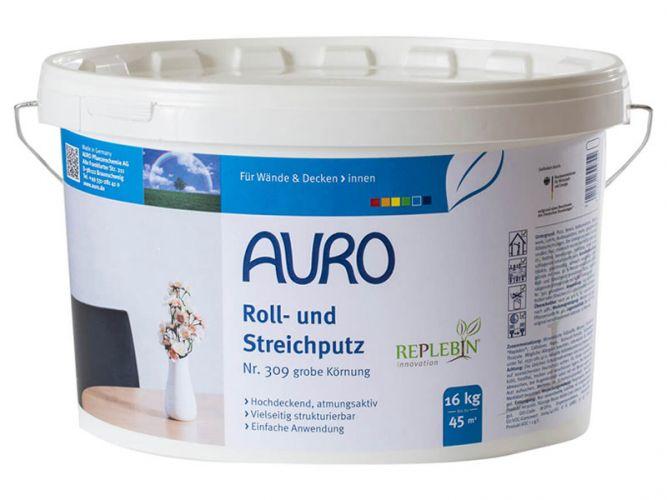 auro roll und streichputz 309 89 90. Black Bedroom Furniture Sets. Home Design Ideas