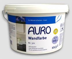 AURO Wandfarbe 321 - 12,5 Liter Aktionsgebinde