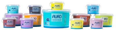 AURO COLOURS FOR LIFE viele Farbtöne in verschiedenen Gebinden lieferbar