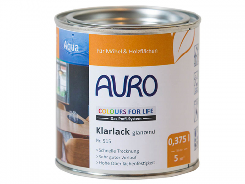 AURO COLOURS FOR LIFE Klarlack, glänzend Nr. 515