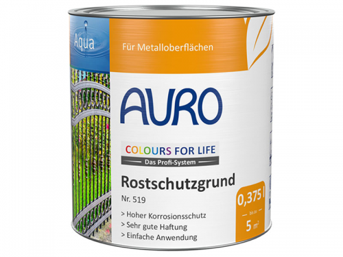 AURO COLOURS FOR LIFE Rostschutzgrund  Nr. 519